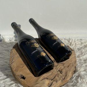 Bottle holder 2 flessen